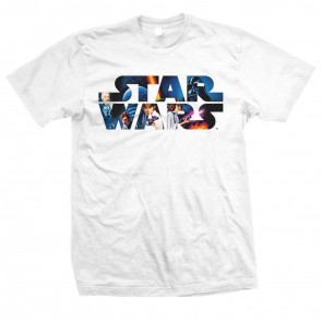 Star Wars T-Shirt Space Montage 3