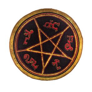 Supernatural Devils Trap Teufelsfalle Fußmatte 61 cm