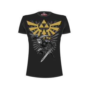 Legend of Zelda T-Shirt Zelda Warrior schwarz