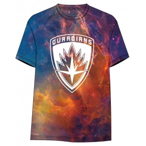 Guardians of the Galaxy Vol. 2 Sublimation T-Shirt All Over Logo