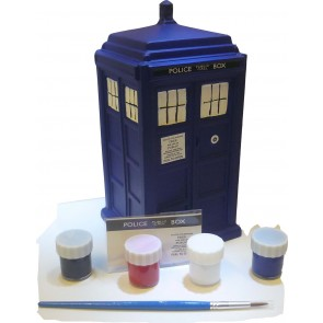 Doctor Who Paint Your Own Spardose Tardis