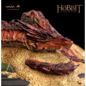 Der Hobbit Smaug King Under The Mountain Statue 8 cm