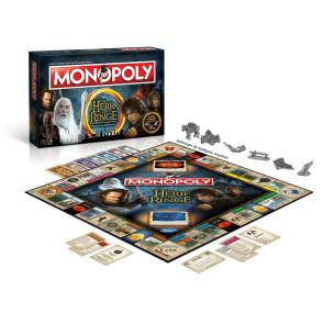 Herr der Ringe Brettspiel Monopoly *Deutsche Version*