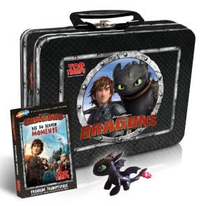 DreamWorks Dragons Top Trumps Trumpfspiel mit Kids Box