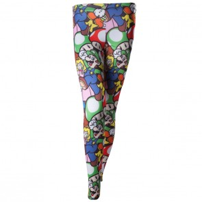 Nintendo Leggings All Over Print